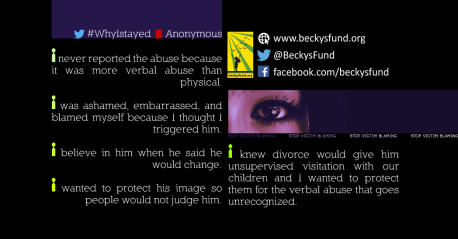 #WhyIStayed_@anonymous
