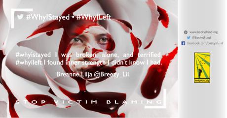 #WhyIStayed_@Breezy_Lil