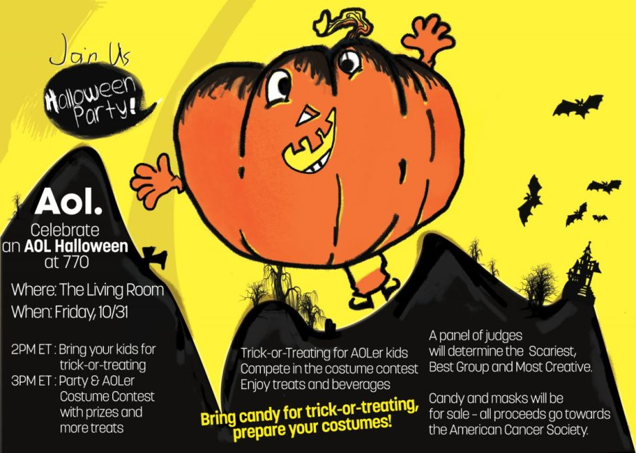 Halloween Invitation Mockup